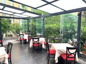 coperture mobili esterni ristorante