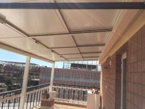 copertura mobile esterni balcone