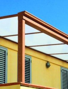 Coperture fisse esterni terrazzi balconi verande giardini porticati pergole pergotende
