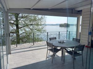 vetrata panoramica esterni terrazza