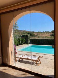 outdoor living verande piscina
