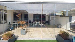 vetrata scorrevole outdoor giardino