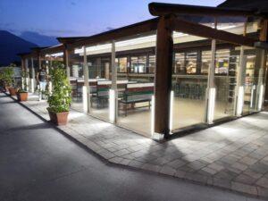 barriera paravento giardini ristorante