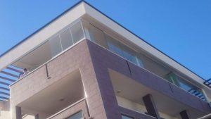 vetrata panoramica impacchettabile balcone