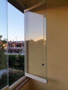 vetrata panoramica impacchettabile su misura