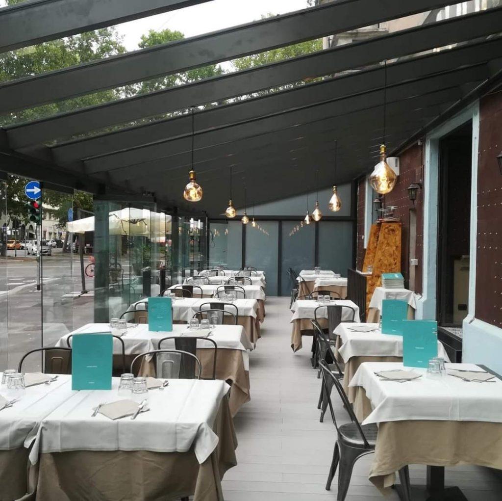 vetrate panoramiche coperture dehor ristorante destagionalizzazione turismo domestico